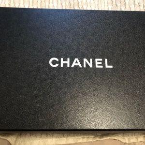CHANEL Shoes - CHANEL Tweed/Grosgrain Black/White Mules Heels